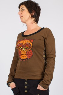 "Top collection ""Burung Hantu"" Marron"