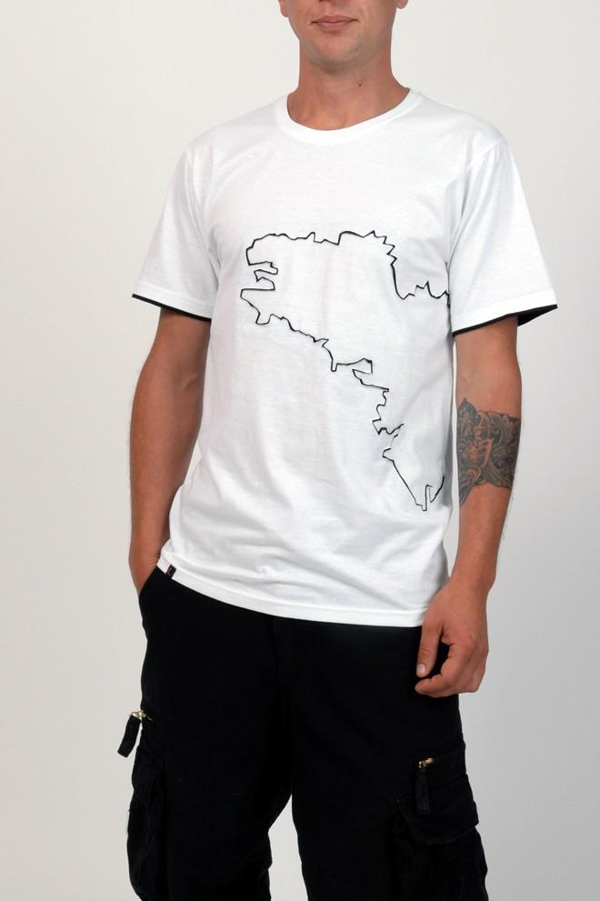 T-shirt Bretagne blanc