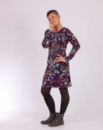 Robe winter owl Purple