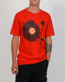 T.S Sillons vinyl rouge