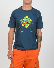 T.S Rubik's Cube Bleu Pétrol