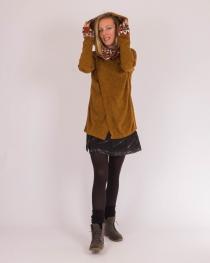 Gilet Maduraï Hoodie Camel