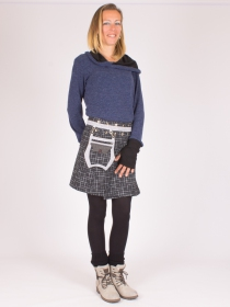 Jupe réversible Smart Wool Digital lign mi-longue