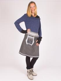 Jupe réversible Smart Wool Digital lign longue