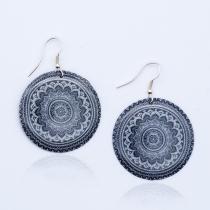 Boucle d'oreille Puri Mandala