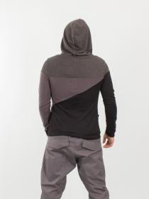 Pull X Sweater Grafikal gris