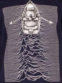 Tee shirt Ship waves