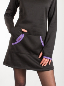 Robe pull Cocoon Noir