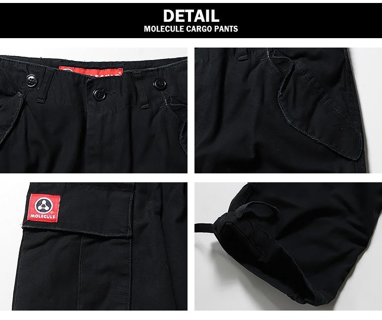 Molecule Pantalon 54002 Noir