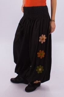 "Pantalon ""Harem\"" Flowers"