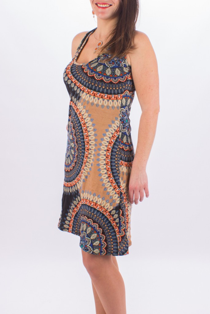 "Robe ""Izia\"" Big Mandala"