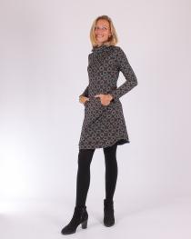 Robe Hiver manches longues et col roulé Marocco gris