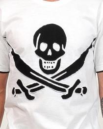 Tee shirt hacker blanc