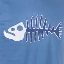 T-shirt Poisson Darwin Fond Bleu