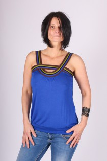 Top Lila Bleu Electrik