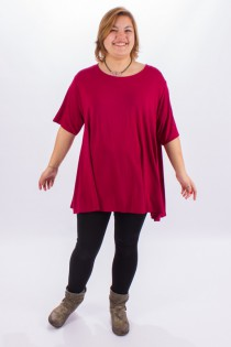 Top long Anais Framboise