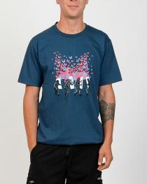 Tee shirt Butterfly Vs Crs Bleu