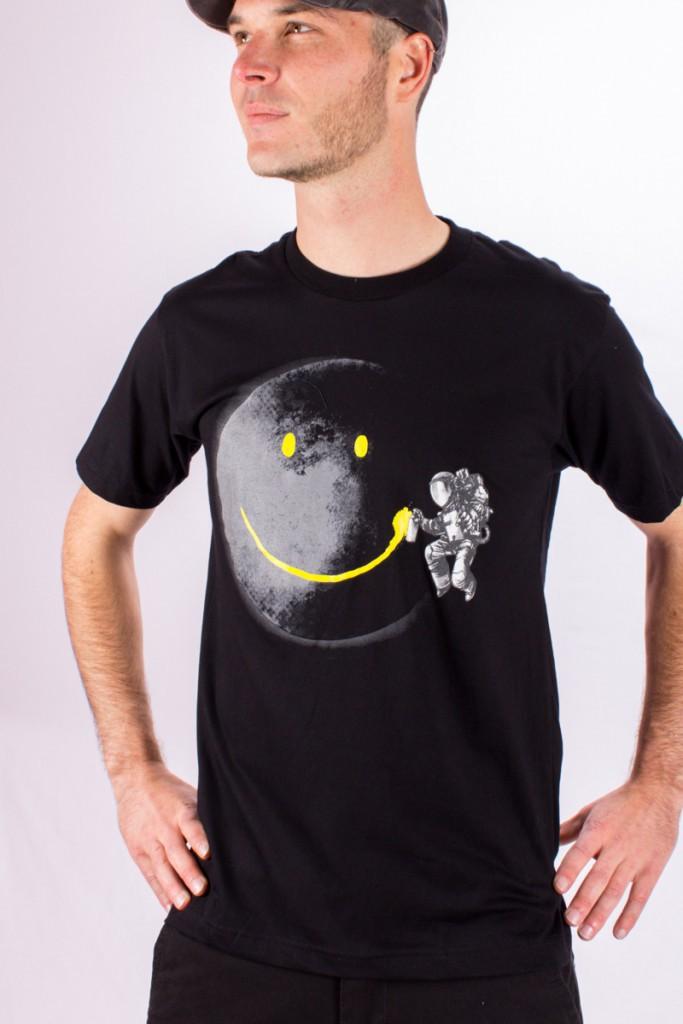 T.S Cosmonaute Noir