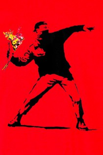 T.S Hooligan \\\'Banksy\\\' Rouge