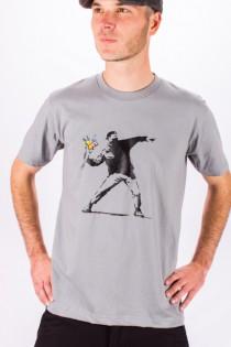 T.S Hooligan \\\'Banksy\\\' Gris