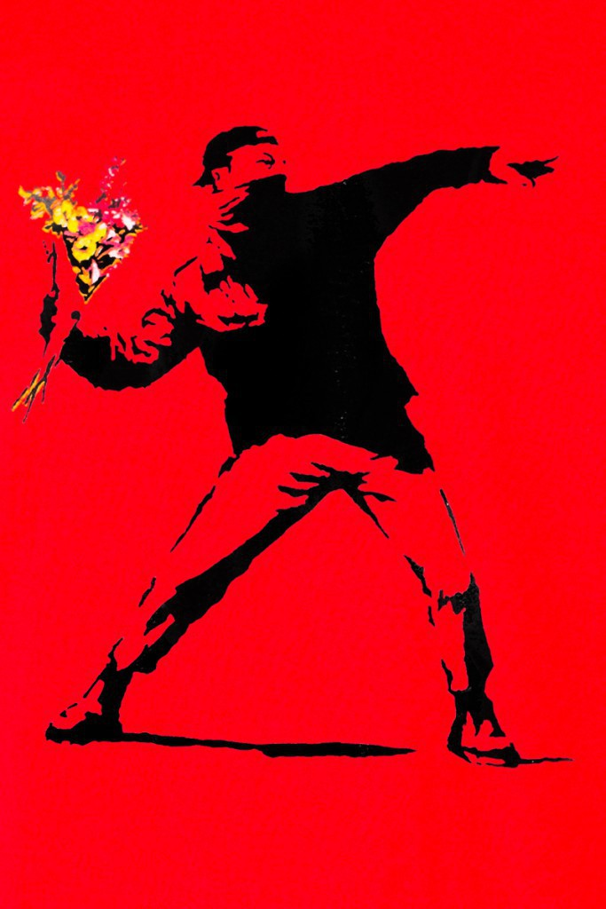 T.S Hooligan \\\'Banksy\\\' Rouge