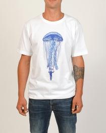 Tee shirt Jelly fish Blanc