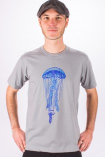 T.S Jelly Fish Gris