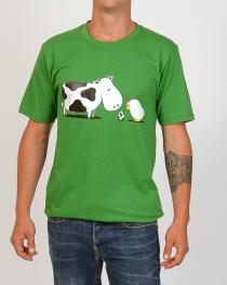 Tee shirt Métissage Vert