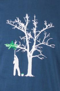 T.S Spring Tree Bleu Pétrole