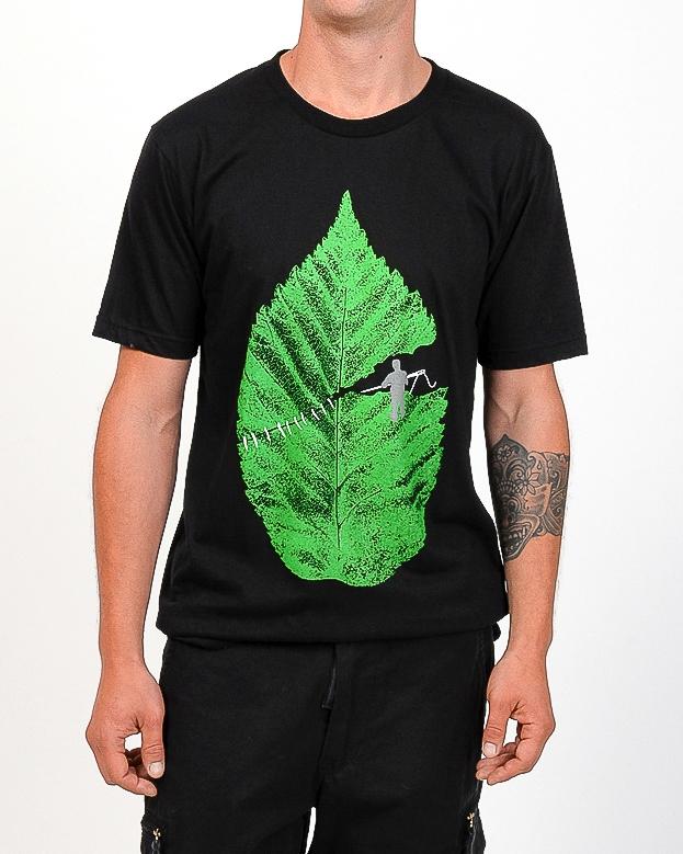 Tee shirt Stitching Leaf